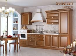 stradivarius facade line for kitchen and cabinet furniture 3d