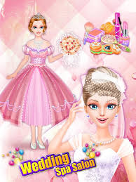 wedding spa salon girls games android apps google play