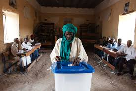 tenue bureau de vote vote de ce dimanche 31 janvier à ansongo l enjeu reste la tenue du