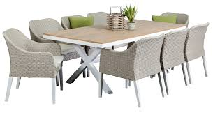 8 seat patio table aluminium outdoor dining sets maine 8 seater segals outdoor
