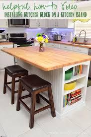 kitchen butcher block island best 25 butcher block island ideas on diy kitchen