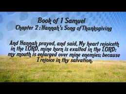 1 samuel 2 s song of thanksgiving