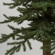 vickerman 2 3 4 unlit bark alpine tree set