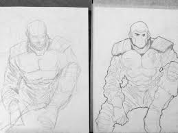 random sketches heromachine character portrait creator