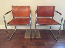 Leather And Chrome Chairs Vintage Chrome Chairs Ebay