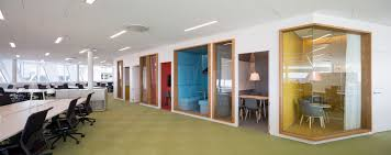 open floor plan office space gallery of swedbank 3xn 15 office spaces workplace design