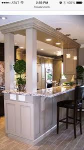 Kitchen Countertop Ideas Kitchens With Bars Best 25 Kitchen Bar Counter Ideas On Pinterest
