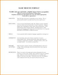 Sample Resume Server Position Order Of Resume Resume Cv Cover Letter