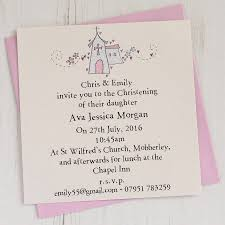 Baptism Invitation Cards Personalised Christening Invitation Pack By Eggbert U0026 Daisy