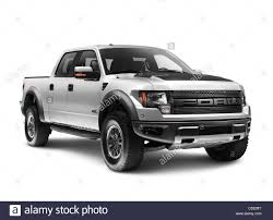 Ford Pickup Raptor 2011 - silver 2011 ford f 150 raptor svt truck isolated on white