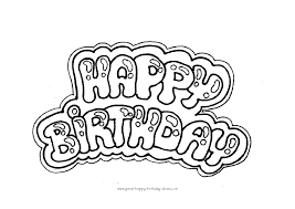 happy birthday coloring letters free print out and tutorial