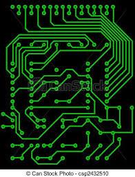 vector clipart of electrical scheme electric scheme for design