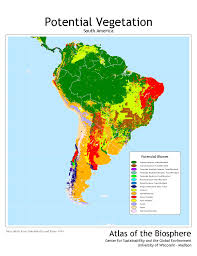 North America Climate Map by Center For Sustainability And The Global Environment Sage