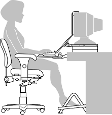 White Ergonomic Office Chair by Ergonomic Office Desk Setup Fabulous We Spend A Lot Of Time