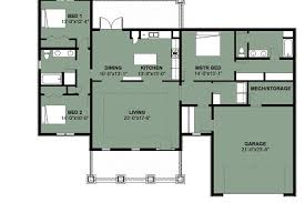 3 bedroom floor plans strikingly beautiful three bedroom bungalow design 13 floor plans