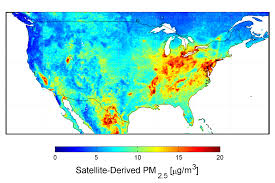 Color Map Of The United States by Nasa New Map Offers A Global View Of Health Sapping Air Pollution