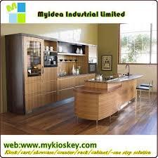 Fish Tank Reception Desk with Modern Design Melamine Reception Table Reception Desk Wooden