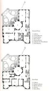 Architectural Building Plans 21 Best French Hotel Plans Images On Pinterest Architecture Plan