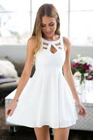 white dresses best 25 white homecoming dresses ideas on school