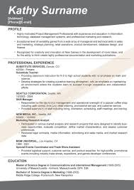 Excellent Resume Sample What To Title A Resume Resume For Your Job Application