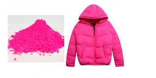 rose color shiny neon fluorescent powder phosphor pigment powder