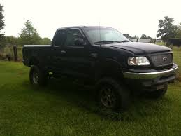 lifted black ford f150 1999 ford f150 1 possible trade 100302199 custom lifted truck
