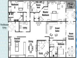 Luxury Penthouse Floor Plan by Unique Master Bedrooms Luxury Penthouse Floor Plans New York