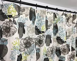 Circo Tree House Shower Curtain Owl Shower Curtain Etsy