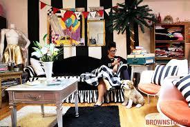 home fashion interiors brooklyn interior design fashion maven lives and works in retro