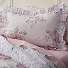 this rose bedding set from simply shabby chic will have you