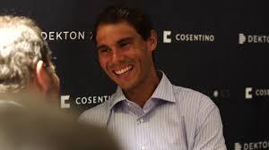 Rafa Consentino by Rafa Nadal Visits Cosentino City In Manhattan Youtube