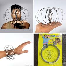 toy finger rings images Pure energy arm slinky magic flow rings kinetic spring flow toy jpg