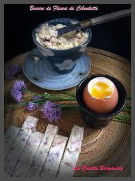 fleurs de ciboulette en cuisine beurre de fleurs de ciboulette la cocotte bergamote