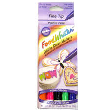 edible markers wilton edible foodwriter tip color marker food color markers