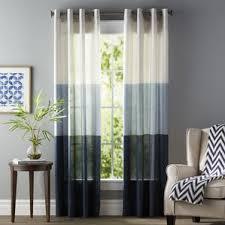 teal sheer curtains wayfair
