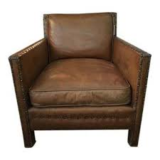 Antique Leather Armchairs For Sale Gently Used Ralph Lauren Decor Up To 50 Off At Chairish