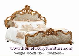 Royal Bed Frame King Beds Royal Luxury Bed Solid Wood Bed Supplier Italy Style