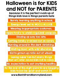 parents eat halloween candy rants from mommyland i just figured this out about halloween