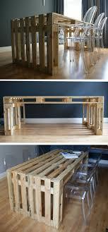 cuisine en palette 50 idées pour une table basse avec palette