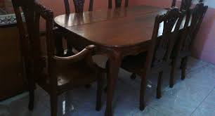dining room illustrious used dining room set kzn shocking used