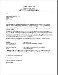 examples of cover letter for resume template best business template