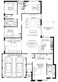 Monarch Homes Floor Plans The Monarch Modern 4 Bed House Design Wa Domain By Plunkett