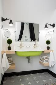 Pictures Of Black And White Bathrooms Ideas Photos Of Stunning Bathroom Sinks Countertops And Backsplashes Diy