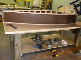 Canoe Shaped Bookshelf How To Build A Lake Inspired Boat Shelf How Tos Diy