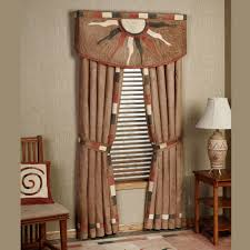 Southwestern Style Curtains Solaris Curtains And Valance