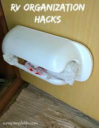 Organizatoin Hacks Sunny Simple Life Rv Storage Organization Hacks