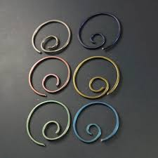 earings for sensitive ears niobium hoop earrings niobium earrings sensitive ears nickel