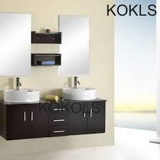 Double Vanity Cabinet 60 Inch Modern Float Bathroom Vanity Cabinet Furniture Double Sink