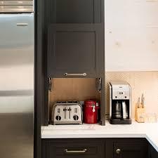 kitchen appliance storage cabinet custom appliance garage storage cabinets
