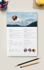 Clean Resume Template 10 Free Simple U0026 Clean Resume Cv Templates You Would Love To Download
